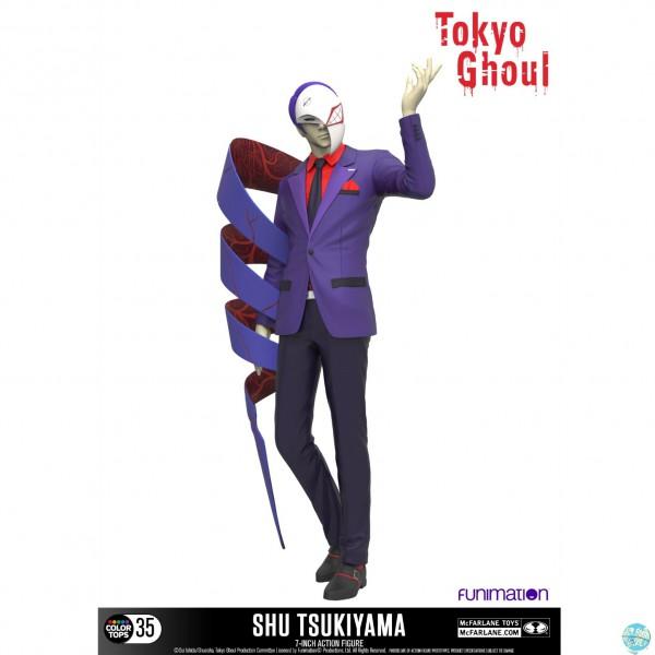 Tokyo Ghoul - Shu Tsukiyama Actionfigur - Color Tops: McFarlane Toys
