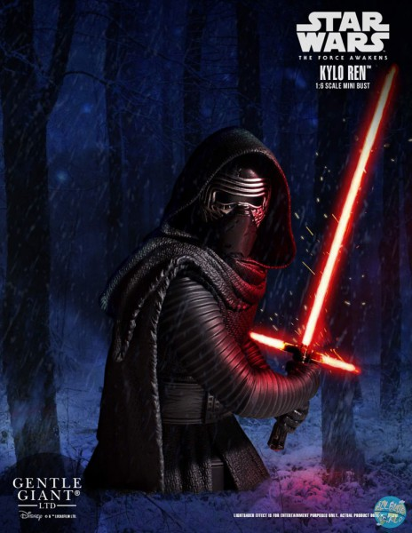 Star Wars Episode VII - Kylo Ren Büste: Gentle Giant