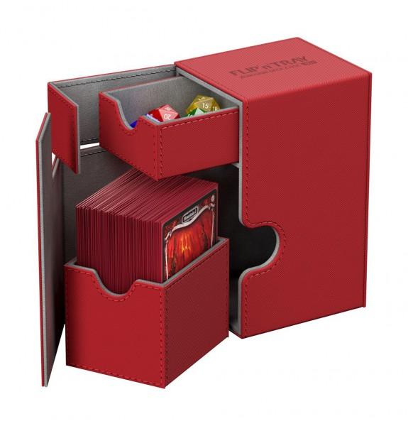 Ultimate Guard - Flip 'n' Tray Deck Case 80+ / XenoSkin Rot
