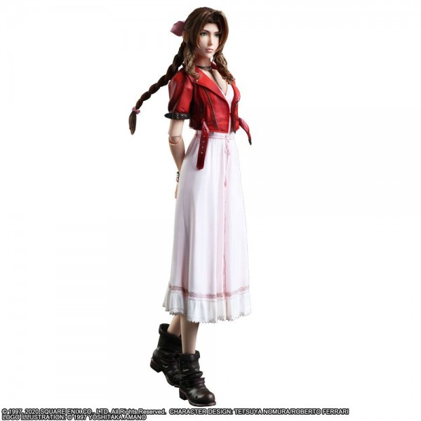 Final Fantasy VII Remake - Aerith Gainsborough Actionfigur / Play Arts Kai: Square Enix