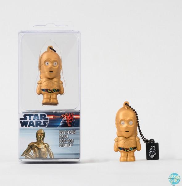 Star Wars Tribe USB Stick C-3PO 8GB 2.0