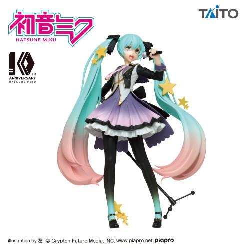 Vocaloid - Hatsune Miku Figur / 10th Anniversary: Taito