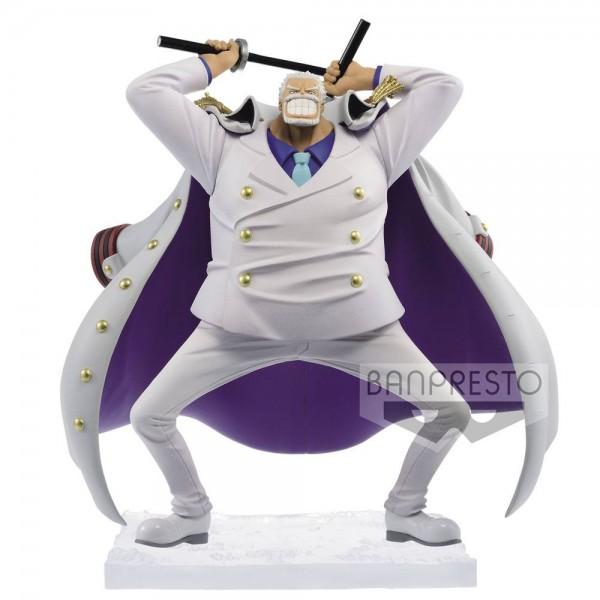 One Piece - Monkey D. Garp Figur / Magazine - A Piece Of Dream: Banpresto