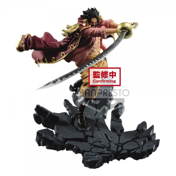 One Piece - Gol D. Roger Figur - DXF / Manhood: Banpresto