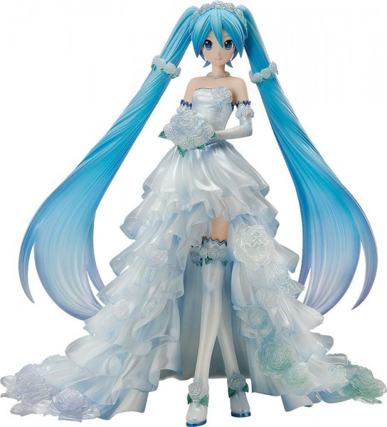 Character Vocal Series 01 - Hatsune Miku Statue / Wedding Dress Version: FREEing