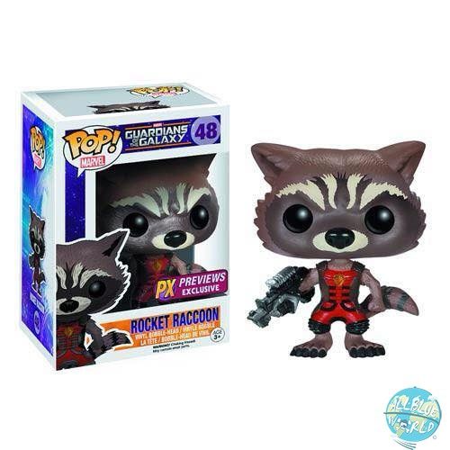 Guardians of the Galaxy Funko POP! Vinyl Wackelkopf-Figur Ravagers Rocket Raccoon 10cm