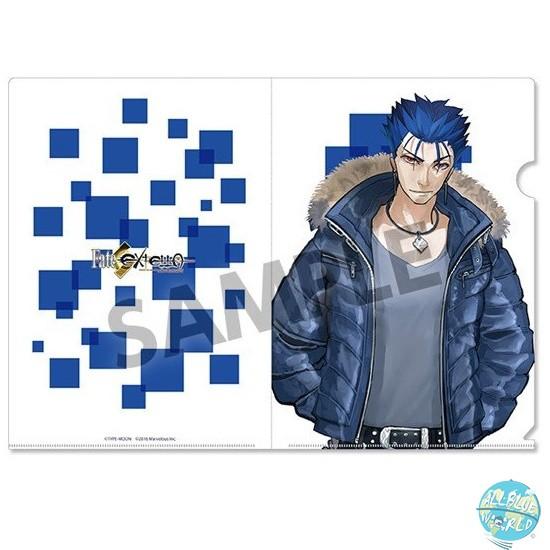 Fate/Extella - Mappe A4 Transparent - Cu Chulainn: Hobby Stock