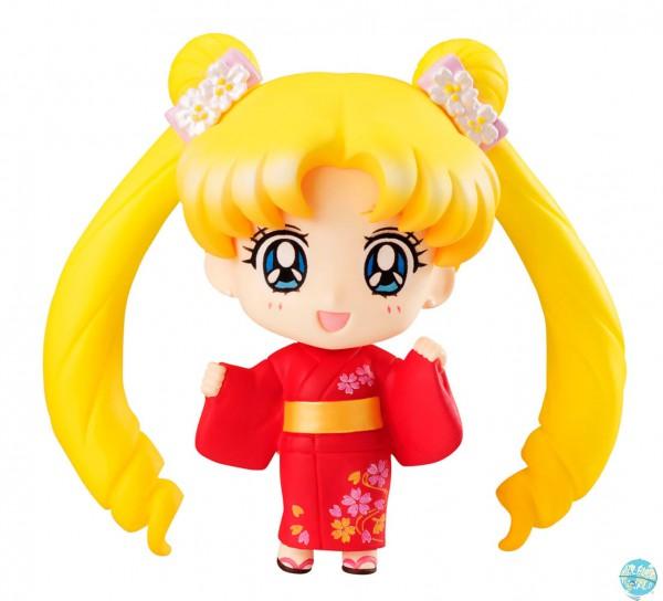 Sailor Moon - Usagi Tsukino Minifigur / Petit Chara - Pretty Soldier / Yukata Ver.: MegaHouse