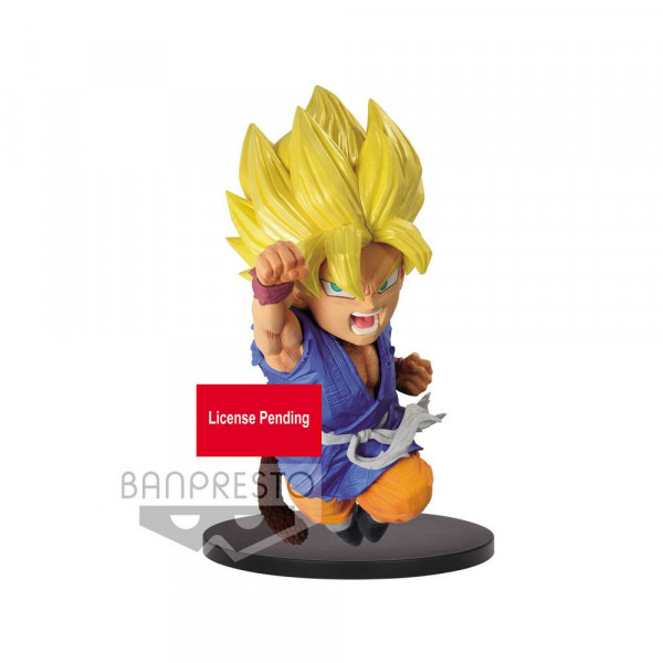 Dragonball GT - SSJ Son Goku Figur / Wrath of the Dragon: Banpresto