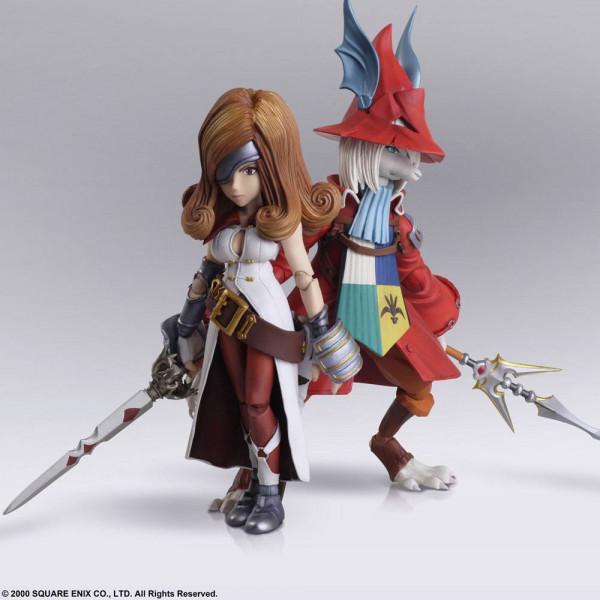 Final Fantasy IX - Freya Crescent & Beatrix Actionfigur / Bring Arts: Square Enix