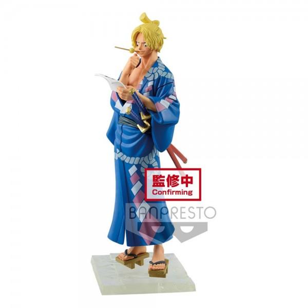 One Piece - Sabo Figur / Magazine - A Piece Of Dream: Banpresto