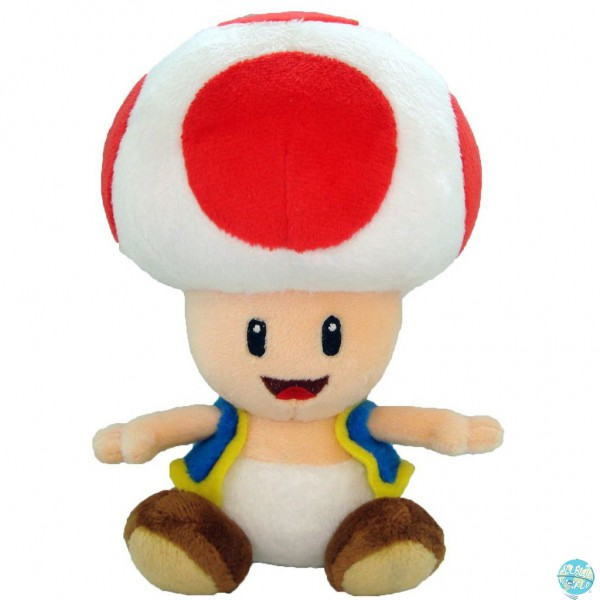 Nintendo Toad Plüschfigur rot 17cm: Together+