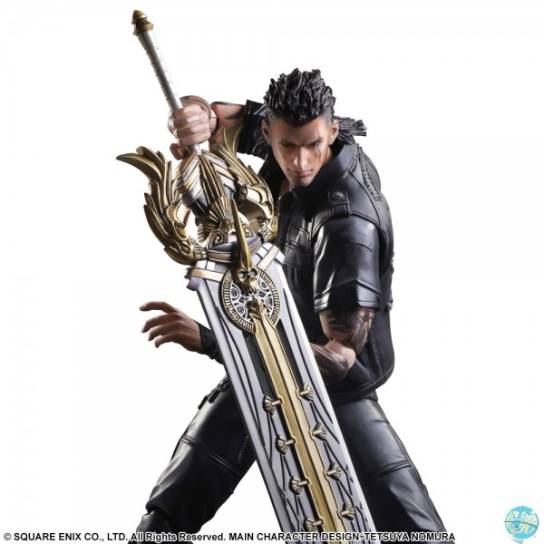 Final Fantasy XV - Gladiolus Actionfigur - Play Arts Kai: Square Enix