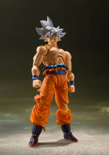 Dragon Ball Super - Ultra Instinct Son Goku Actionfigur / S.H.Figuarts: Tamashii Nations