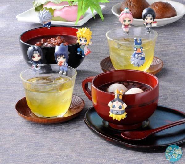 Naruto Shippuuden - Minifiguren - Ochatomo Serie 8er-Set / Konoha Break Time: MegaHouse
