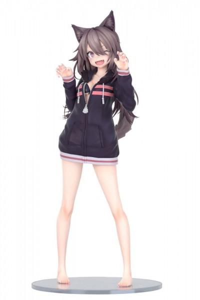 Original Character - Hoodie Wolf Girl Statue / by Syugao: Fots Japan