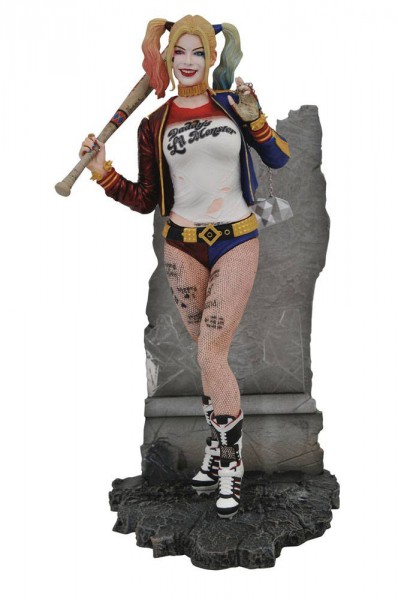 Suicide Squad - Harley Quinn Statue / DC Movie Gallery: Diamond Select