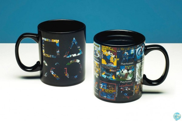 PlayStation - Tasse mit Thermoeffekt / Game Cover: Paladone Products