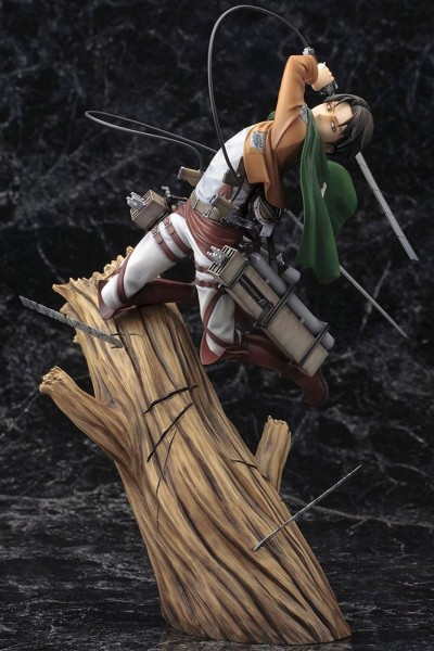 Attack on Titan - Levi Ackermann Statue / ARTFXJ / Renewal Version: Kotobukiya