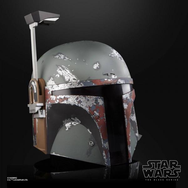 Star Wars - Boba Fett Helm / Elektronischer Premium Helm - Black Series: Hasbro