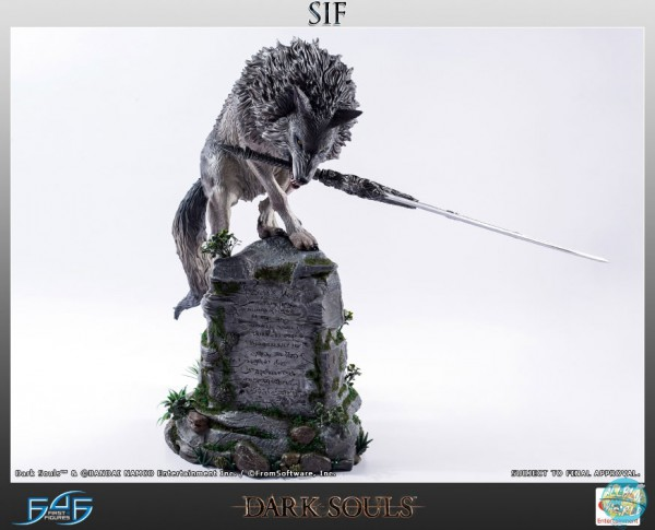 Dark Souls - Sif Statue: First 4 Figures