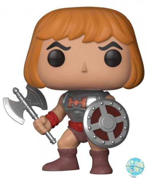 Masters of the Universe - Battle Armor He-Man Figur - POP! / Television: Funko