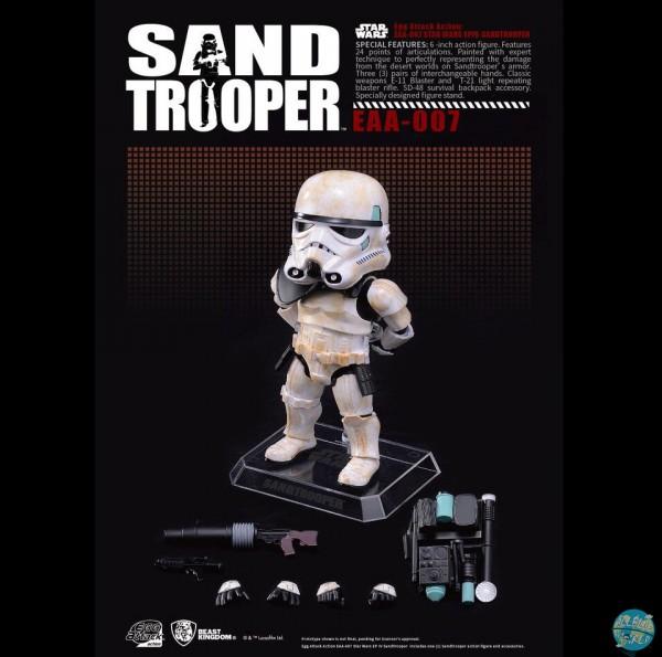 Star Wars Episode IV - Sandtrooper Actionfigur - Egg Attack: Beast Kingdom Toys