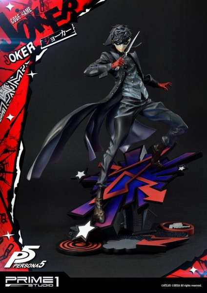 Persona 5 - Joker Statue / Deluxe Version: Prime 1 Studio