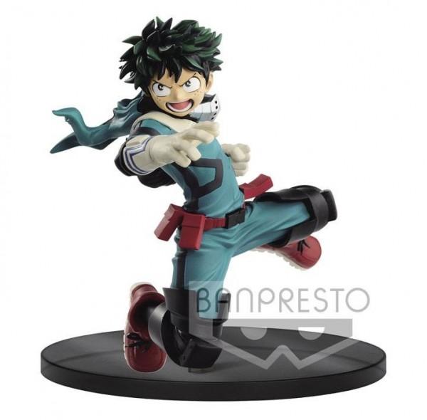 My Hero Academia - Izuku Midoriya Figur / The Amazing Heroes Version II: Banpresto