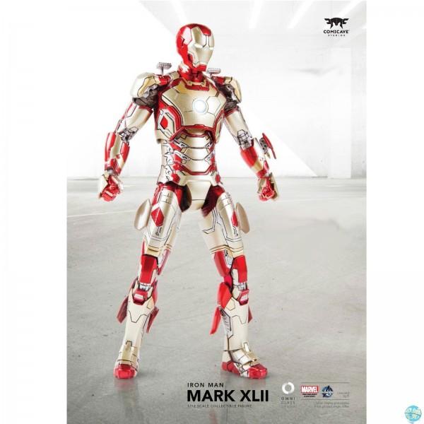 Iron Man 3 - Iron Man Actionfigur mit Sofa - Mark XLII: Comicave Studios