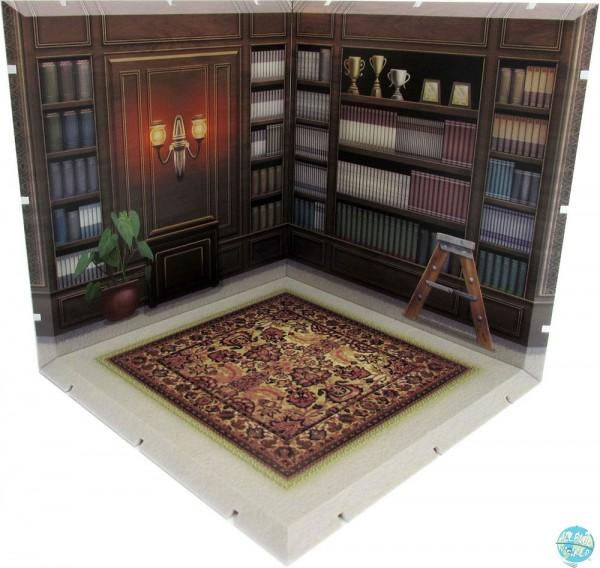 Dioramansion 150 - Bücherraum / Zubehör-Set: PLM