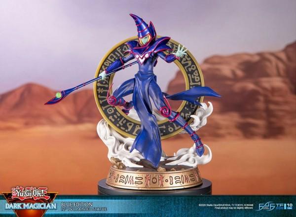 Yu-Gi-Oh! - Dark Magician Statue / Blue Version: First 4 Figures