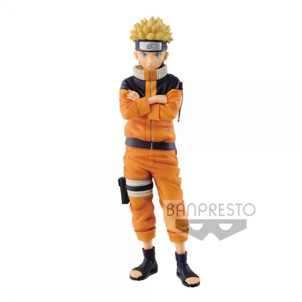 Naruto - Naruto Uzumaki Figur / Shinobi Relations - Grandista #2: Banpresto