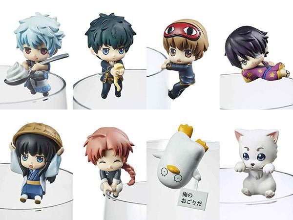 Gintama - Minifiguren-Set / Ochatomo Cafe Too Free 1.5 Version: MegaHouse
