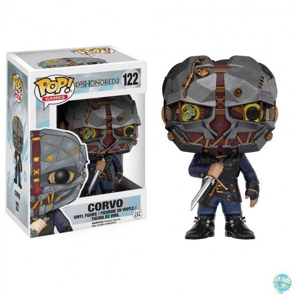 Dishonored 2 - Corvo Figur - POP: Funko