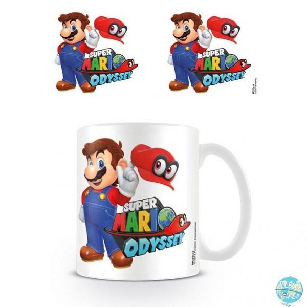 Nintendo - Super Mario Odyssey Tasse - Mario with Cappy: Pyramid