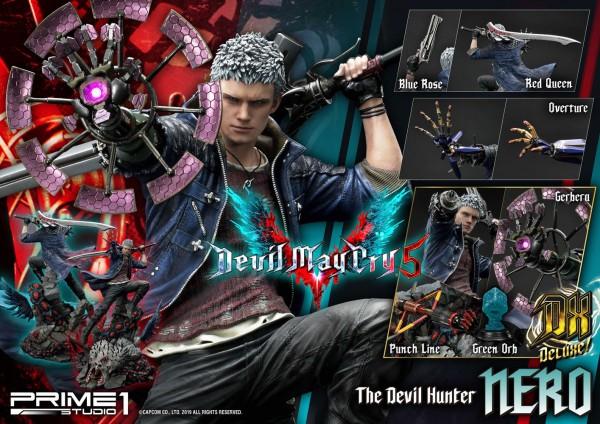 Devil May Cry 5 - Nero Statue / Deluxe Version: Prime 1 Studio