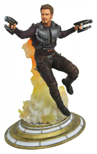 Guardians of the Galaxy - Maskless Star-Lord Figur: Diamond Select