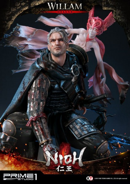 Nioh - William Statue / Deluxe Version: Prime 1 Studio