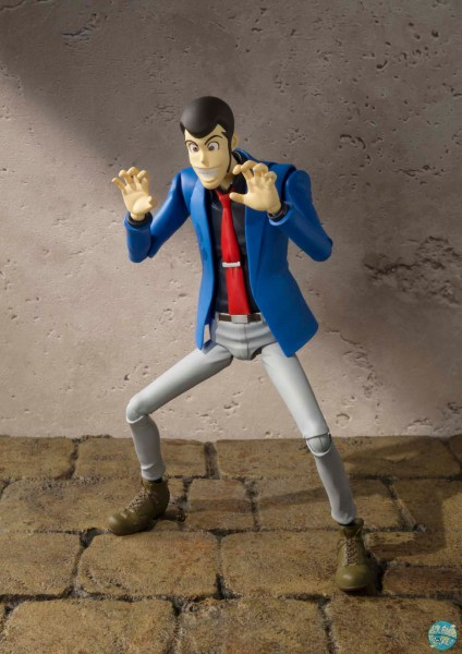 Lupin III - Lupin Actionfigur - S.H. Figuarts: Bandai