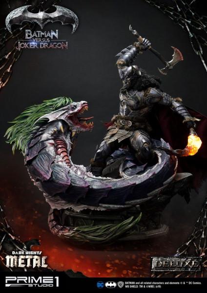 Dark Nights: Metal - Batman Versus Joker Dragon Statue / Deluxe Version: Prime 1 Studio