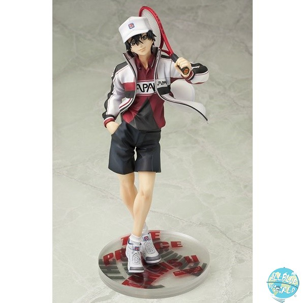 Prince of Tennis II - Ryoma Echizen Statue - ARTFX J / Renewal Package Version: Kotobukiya
