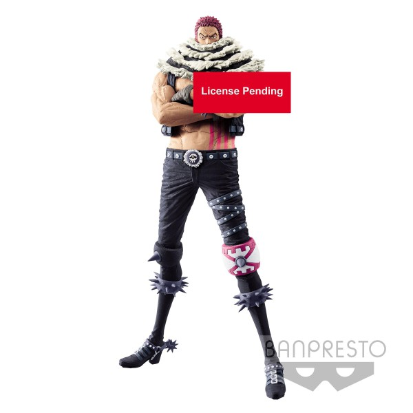 One Piece - Charlotte Katakuri Figur / King of Artist: Banpresto