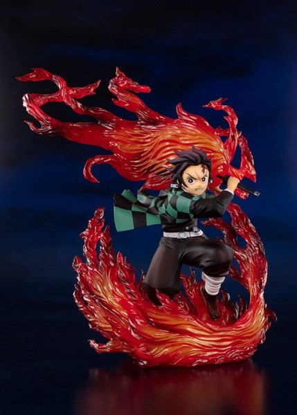 Demon Slayer: Kimetsu no Yaiba - Tanjiro Figur / FiguartsZERO - Hinokami Kagura: Tamashii