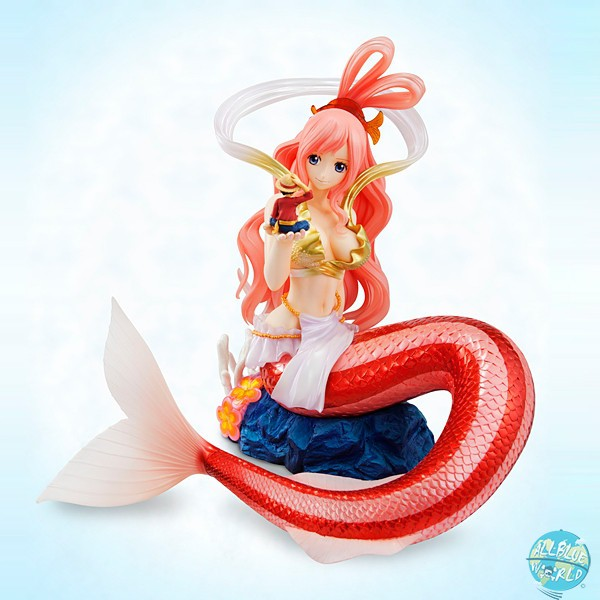 One Piece - Pinzessin Shirahoshi Statue - Excellent Model P.O.P / Sailing Again: MegaHouse