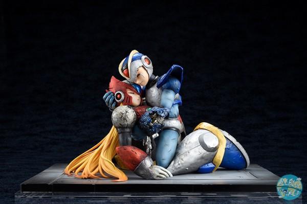Mega Man X - X & Zero Statue: Hobby Japan
