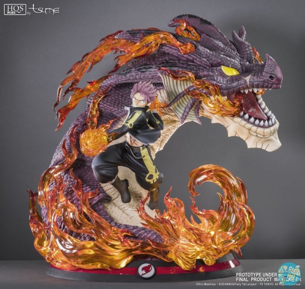 Fairy Tail - Natsu & Igneel HQS+ / Natsu Dragon Slayer: Tsume