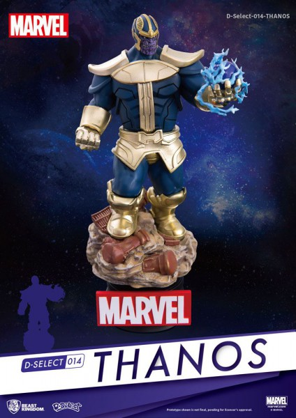 Marvel - Thanos Figur / D-Select: beast kingdom Toys
