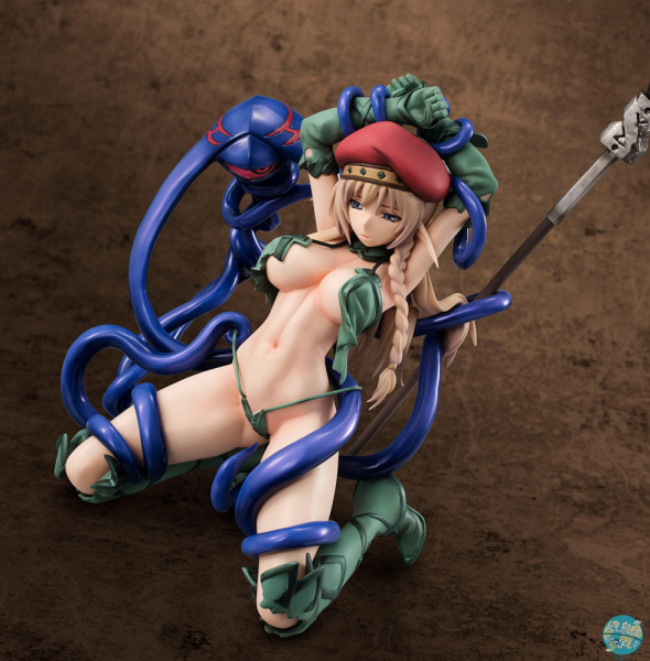 Queen's Blade - Vanquish Queens Alleyne Statue - Excellent Model Core: MegaHouse