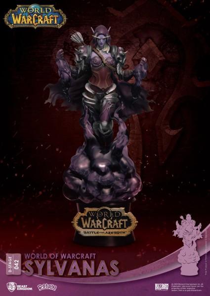 World Of Warcraft - Sylvanas Diorama / D-Stage: Beast Kingdom Toys
